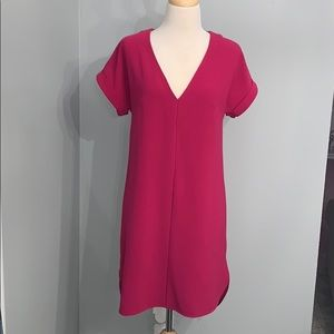 Pink relaxed fit shift dress size XS